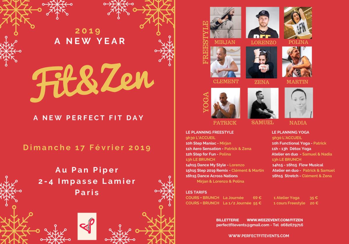 Fit & Zen - Dimanche 17 février 2019 au Pan Piper à Paris